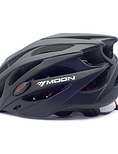 MOON Cycling bike helmet 21 Vents Black PC/EPS  Protective Ride Helmet