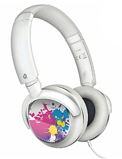 Auriculares para colocar sobre el oído con Bass Sound para iPod (Blanco)