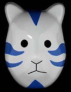 Naruto Madara Uchiha White and Blue PVC Mask