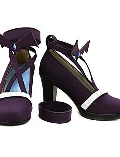 ! Aikatsu Aidoru Katsudou! Todo Yurika púrpura de Cosplay Zapatos de tacón alto