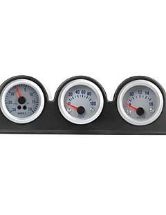Triple Three Auto Car Gauge Meter Pod Holder Cup Mount 2 52mm