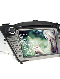 7Inch 2 DIN In-Dash Car DVD Player for Hyundai IX35 2009-2013 with GPS,BT,IPOD,RDS,TV