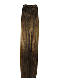 32inch 100% de cheveux humains de Remy d'Indien de cheveux trame soyeuse droite 100g Plus de couleurs Avaliable