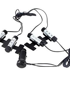 LED 12V 차 자동 실내 분위기 조명 장식 램프