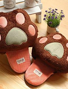 Dejlig Bear Claw Uld Slide Slipper - 2 farver Tilgængelig