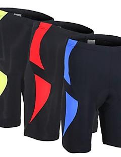Arsuxeo® מכנס קצר מרופד לרכיבה יוניסקס נושם / עיצוב אנטומי / 3D לוח אופניים מכנסיים קצרים / שורטים (מכנסיים קצרים) מרופדיםספנדקס /