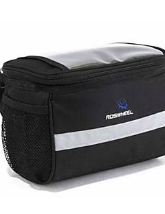 Bike Bag 2LExternal Frame Pack / Bike Handlebar Bag Waterproof / Reflective Strip / Shockproof / Wearable / Moistureproof Bicycle Bag600D