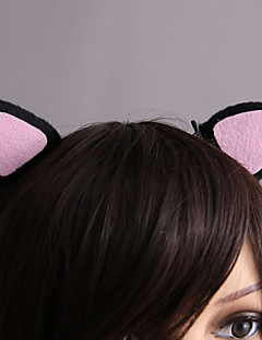 Cute Cat Style Pink & Black Sweet Lolita Barrette