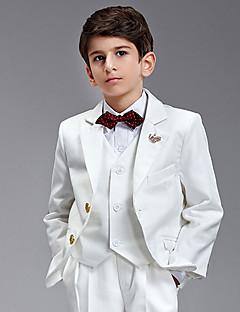 טוקסידו חליפה שש חתיכות לבנה נושא טבעת
