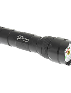 502 Green Laser Pointer com Baterias (1x16340, 532nm, 5mW, Preto)