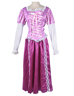 Princess Series Deluxe Purple Satin Women's Halloween Party Costume