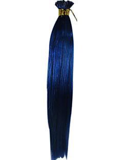Cheveux 20inch bâton Je lève extension de cheveux 100g 1g / s cheveux raides