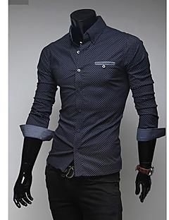 Dinuo mensen nieuwe contrasterende kleur oorzakelijke overhemd