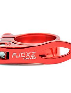 FJQXZ Aluminium Alloy Red Bicycle Seat Post Clamp