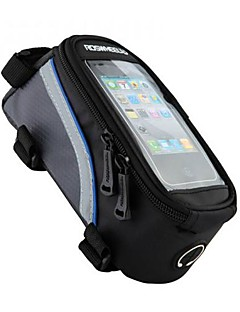 ROSWHEEL® Bike Bag 1/1.2/1.5LBike Frame Bag Cell Phone Bag Waterproof Reflective Strip Wearable Touch Screen Phone/Iphone Skidproof