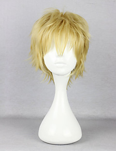 Cosplay Wigs Kagerou Project Saori Kido Yellow Short Anime/ Video Games Cosplay Wigs 30 CM Heat Resistant Fiber Male
