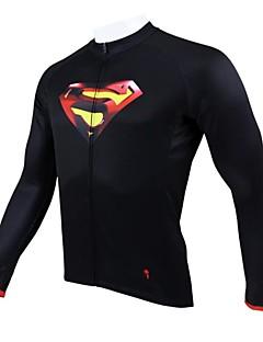 paladinsport mænds cykling trøje langærmet forår og sommer og efterår stil 100% polyester