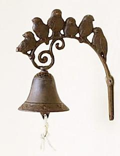 Retro Eksotiske Singing Birds av smijern Hånd-type Door Bell