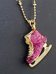 Dame Halskædevedhæng Akryl Rhinsten Legering Mode Sød Stil Europæisk Guld/Pink Smykker ForFest Speciel Lejlighed Fødselsdag Daglig