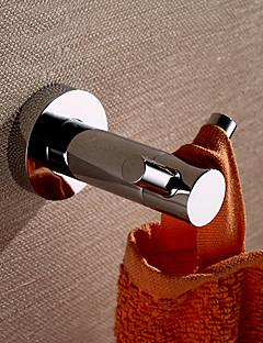 """וו תליה לחלוק פליז ענתיקה התקנה על הקיר W5cm xL7cm xH4.5cm(W2"""" xL3"""" xH2"""") פליז מודרני"""