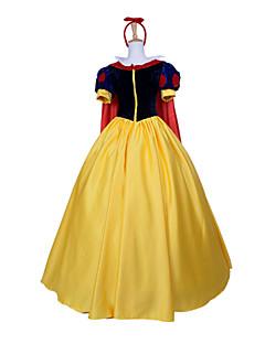 Halloween Costume élégant de princesse de neige de style blanche classique femmes