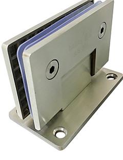90mm × 90mm Holdbar rustfritt stål For Frameless dørhengselen