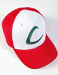 100% bomuld visir cap pocket lille monster Ash Ketchum anime cosplay hat