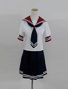 inspirerad av akuma inga gåtan Mahiru Shinya Banba cosplay kostymer