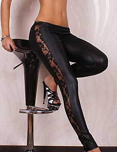 kvinders blonder sort sexet bodycon slankende elastiske leggings