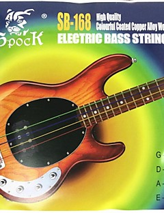 SB168 - Colored Electric Bass Strings(4 Strings)