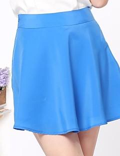 Rosas Mode ™ Summer Bright Lines Veckade kjolar
