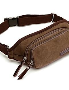 borsa di tela marrone fashional all'aperto dell'uomo
