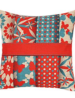 Little Flowers & Butterfly coton / lin coussin décoratif couverture