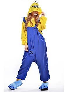 Pijama Cosplay - Minion do Meu Malvado Favorito Adulto de Fleece.