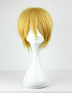 Cosplay Wigs Cosplay Kise Ryota Yellow Short Anime Cosplay Wigs 30 CM Heat Resistant Fiber Male