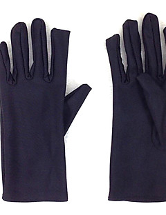 Gloves Inspired by Sword Art Online Kirito Anime Cosplay Accessories Gloves Black Spandex Male / Female