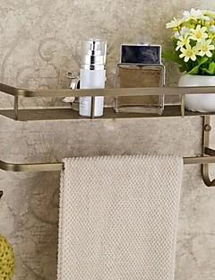 Antique Brass Finish Latão níveis de material de casa de banho