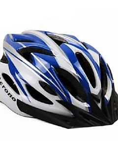 Others Unisex Mountain / Half Shell Bike helmet 22 Vents Cycling Cycling Medium: 55-59cm / Large: 59-63cm PC / EPS White / Blue