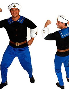 Strong Sailor Popeye Adult Men's Halloween Costume (for Height 168-180cm)