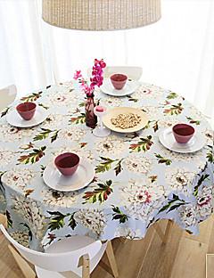 """Modèle pastoral floral linge de table, Tissu 31.5 """"* 31.5"""""""