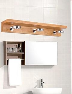 LED Bathroom Lighting , Modern/Contemporary LED Integrated Wood/Bamboo