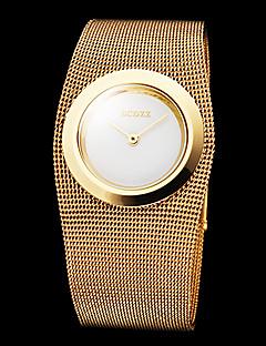 Női Ruha óra Divatos óra Karóra Japán Kvarc ötvözet Zenekar elegáns Luxus Arany Aranyozott