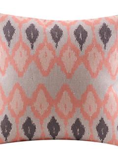lié coton losange / linge taie d'oreiller décoratif