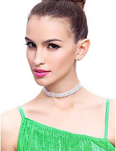Dance Accessories Jewelry Women's / Children's Performance Polyester Crystals/Rhinestones Silver Clasp At BackSpring, Fall, Winter,
