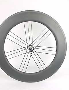 KAYOTE 700C Depth 88mm Clincher Width 23mm With Powerway G3 Hub Carbon Wheelset for  road bike