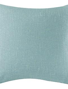 "18 lac naturel lin bleu taie d'oreiller confortable ""x18"""