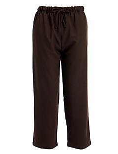 kvinders brun snøre bukser