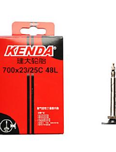 KENDA 700*23/25c Butyl Rubber FV 48mm Road Bike Tube