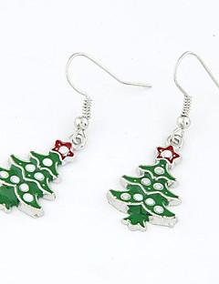 Weihnachten Serie - Weihnachtsbaum Ohrringe