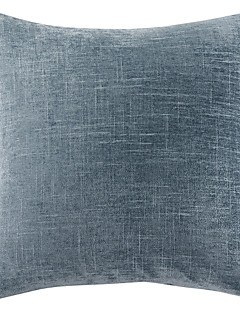 """18 taie d'oreiller en polyester bleu foncé """"x18"""""""